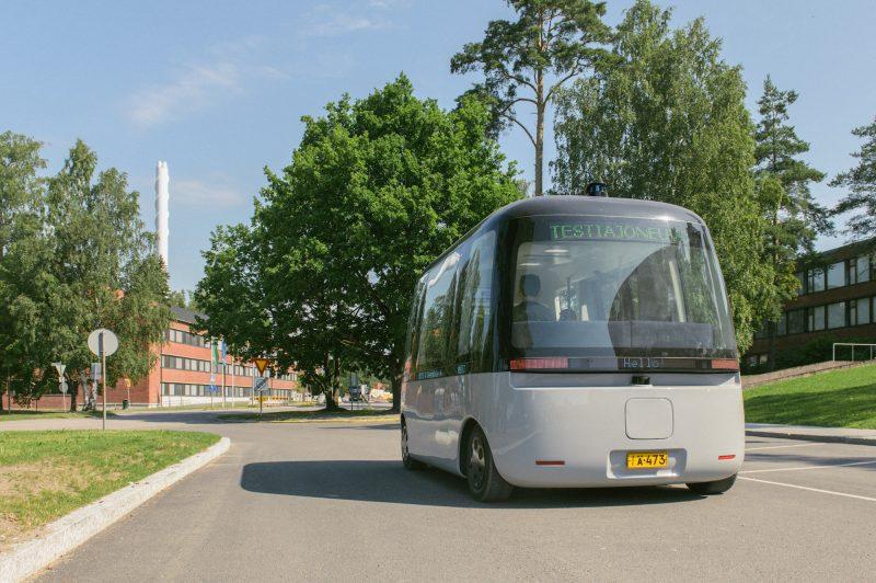 Gacha-bussi alkaa liikennöidä Nokian kampuksella.