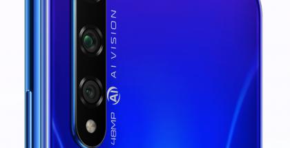 Honor 20S:ssä on kolme takakameraa, kun Honor 20:ssä ja Honor 20 Prossa niitä on neljä.
