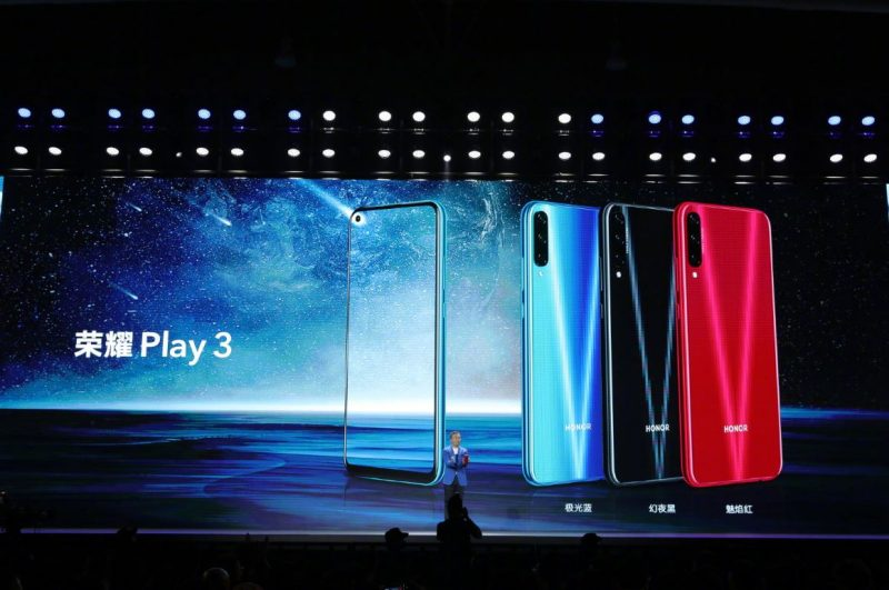 Honor Play 3.