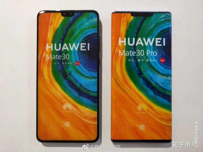 Huawei Mate30 vs. Mate30 Pro.