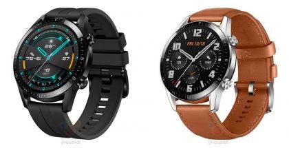 Huawei Watch GT 2 kahtena tyylivaihtoehtona. Kuvat: WinFuture.de.