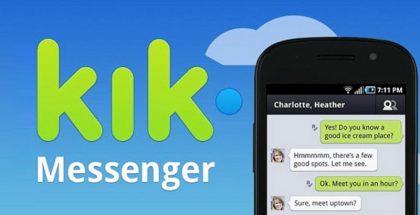 Kik Messenger perustettiin jo vuonna 2009.