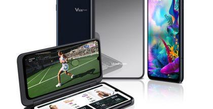 LG G8X ThinQ:lle on saatavilla myös Dual Screen -lisäkuori, joka tuo käyttöön toisen 6,4 tuuman näytön. Kuoren kannessa on nyt myös 2,1 tuuman mono-näyttö.