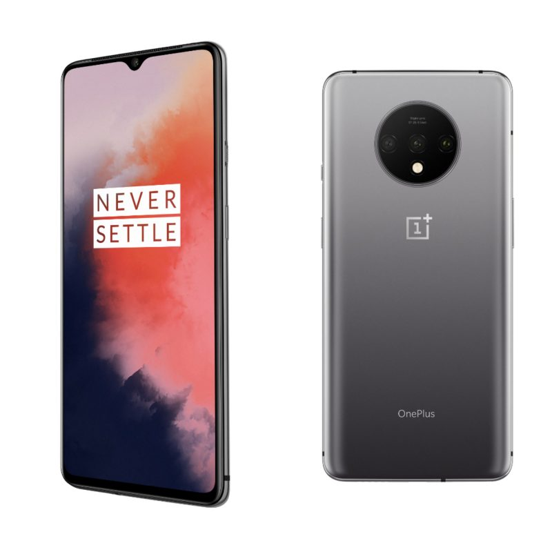 OnePlus 7T Frosted Silver.