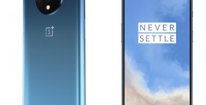 OnePlus 7T Glacier Blue.