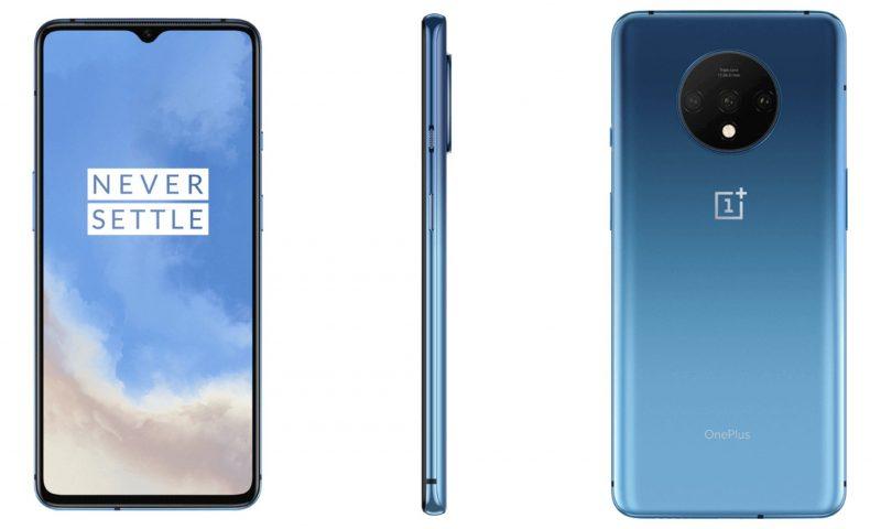 OnePlus 7T Glacier Blue. Kuva: Ishan Agarwal.
