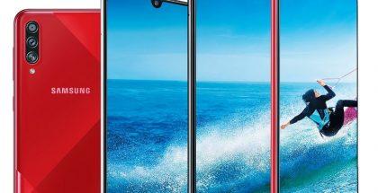 Samsung Galaxy A70s:n tärkein uudistus on 64 megapikselin takakamera.