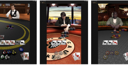 Applen Texas Hold'em iPadille.