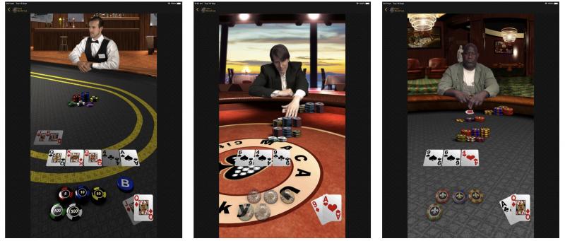 Applen Texas Hold'em iPadille.