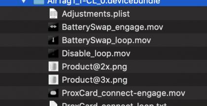 iOS 13.2:sta löytyy AirTag-maininta.