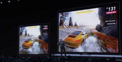 Asphalt 9 -peliä esiteltiin esimerkkinä Catalyst-sovelluksesta WWDC-kehittäjäkonferenssissa.