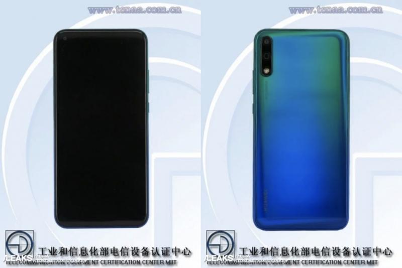 Huawei Enjoy 10, mallikoodiltaan ART-TL00, TENAA-viranomaisen kuvissa.