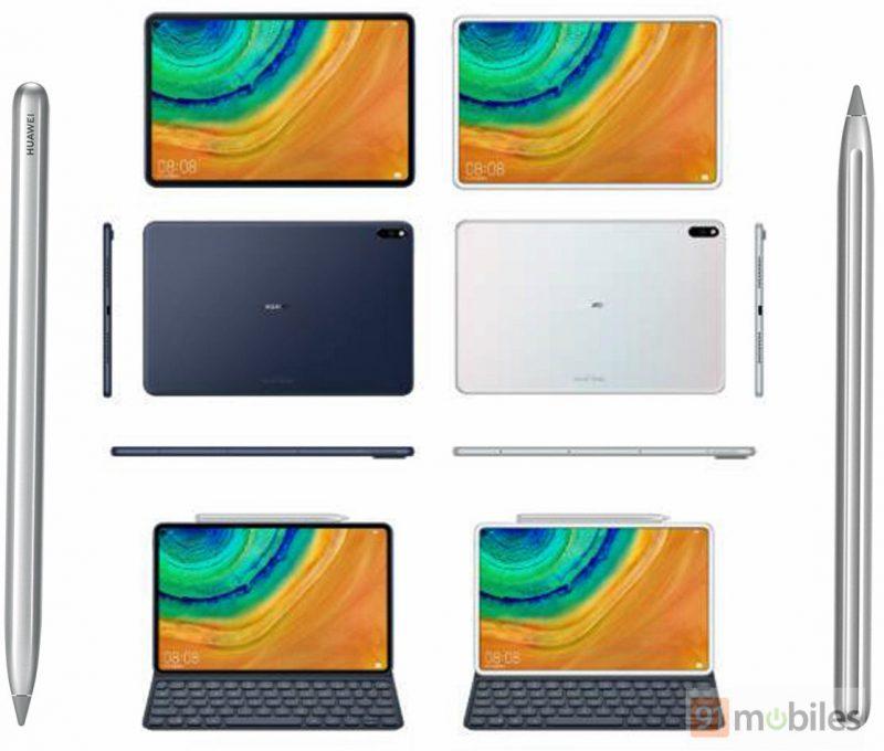 Mahdollinen Huawei MediaPad, tablettilaite koodinimellä Marx. Kuva: 91mobiles.