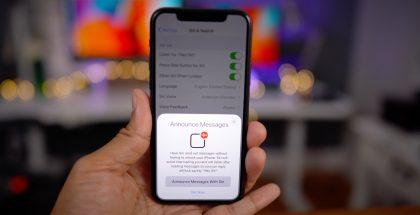 iOS 13.2 sisältää muun muassa viesteistä kertovan Sirin. Kuva: 9to5Mac.