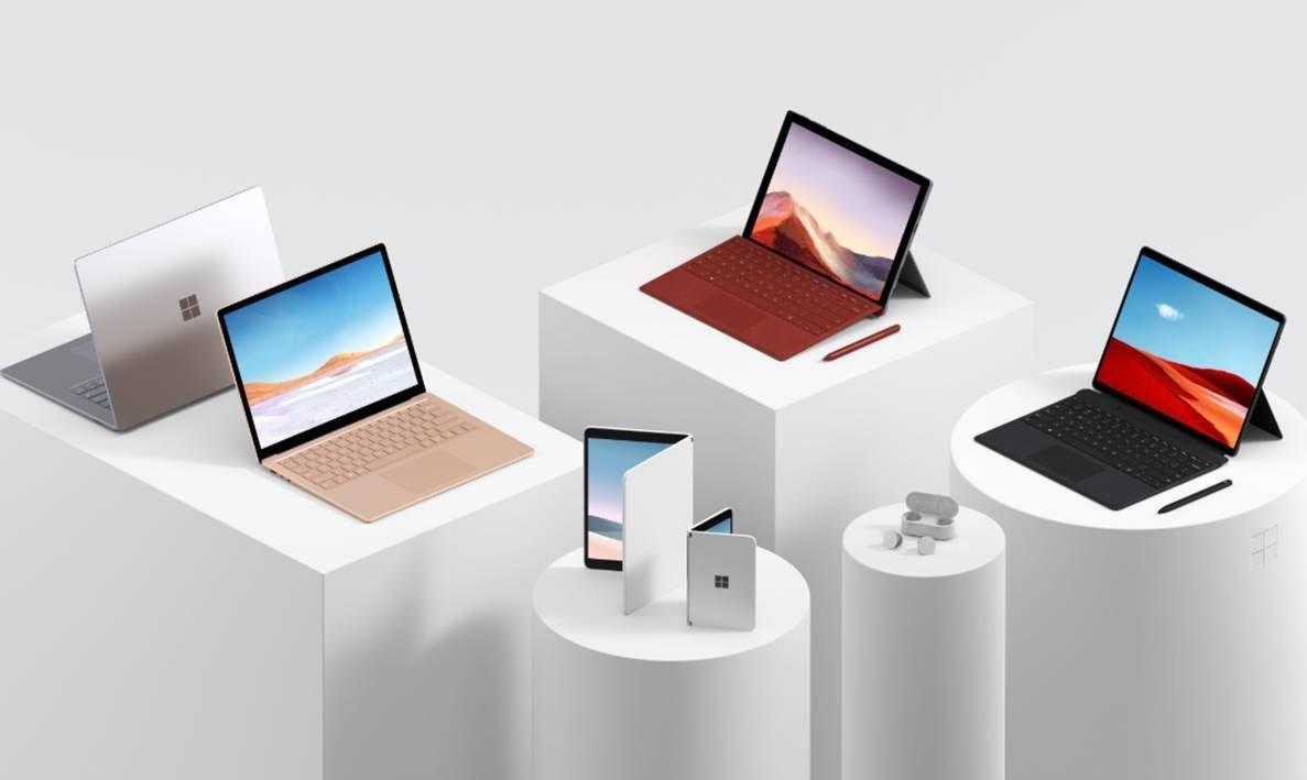 Microsoftin Surface-uutuudet.