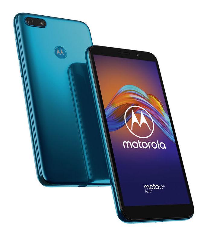 Motorola Moto E6 Play, Ocean Blue.