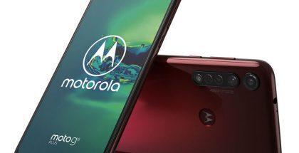 Moto G8 Plus, Crystal Pink.
