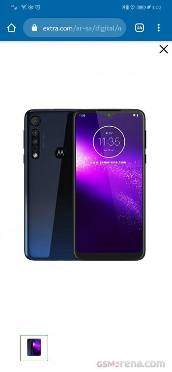 Motorola One Macro. Kuva: GSMArena.com.