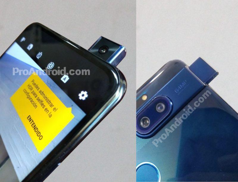 Esiin nouseva etukamera on Motorolan One-sarjan uutuuden erikoisuus. Kuva: ProAndroid.