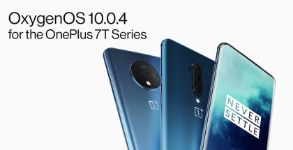 OnePlus 7T ja OnePlus 7T Pro päivittyvät OxygenOS 10.0.4:llä.