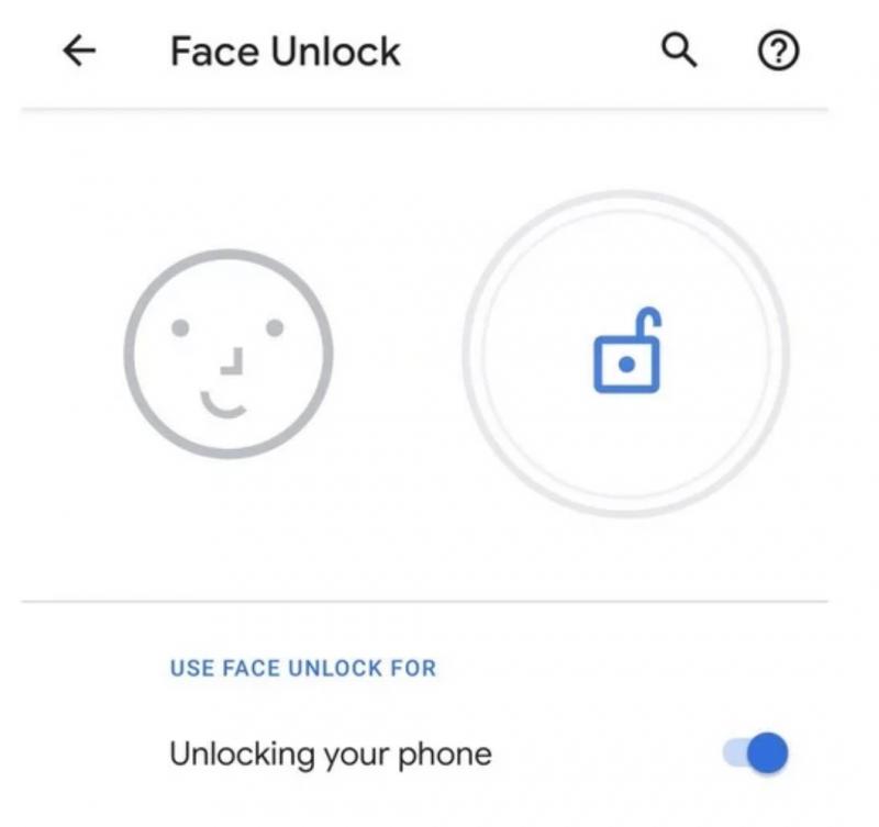Kasvojentunnistus on ainoa biometrinen tunnistautumistapa Pixel 4 -puhelimissa.