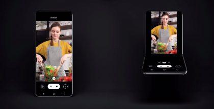 Samsung on esitellyt jo konseptia simpukkapuhelimen tavoin avautuvasta taittuvanäyttöisestä älypuhelimesta.