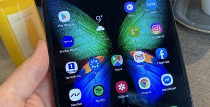 Galaxy Fold on hieno laite, joka avaa uuden aikakauden älypuhelimissa.