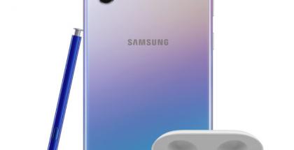 Samsung Galaxy Note10 ja Galaxy Note10+ ovat nyt kaupan Galaxy Buds -kuulokkeet kaupan päällisenä.