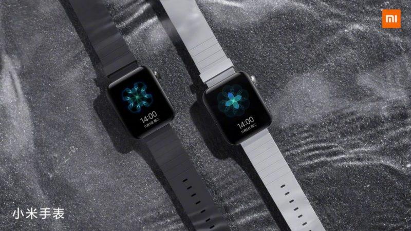 Xiaomin uutta älykelloa voi kutsua Apple Watch -kopioksi.