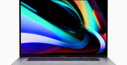 Nykyinen 16 tuuman MacBook Pro.