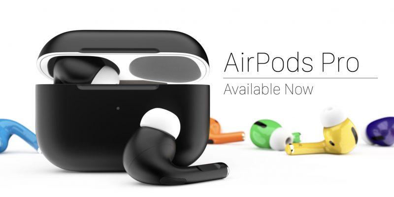 ColorWare tarjoaa AirPods Pro -kuulokkeita eri väreissä.