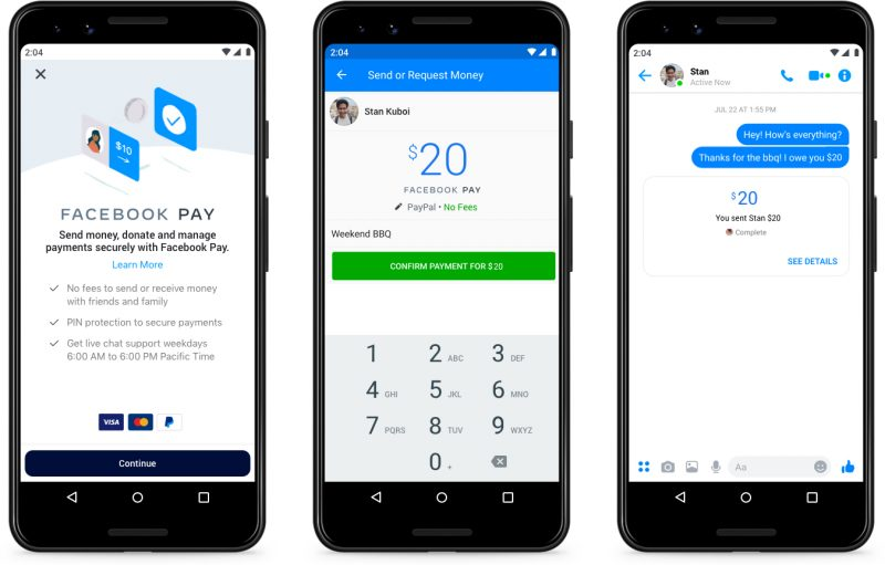 Facebook Pay kokoaa maksamisen Facebookin palveluissa yhdeksi kokonaisuudeksi.