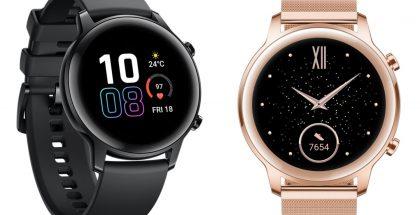 Honor Magic Watch 2:n tyylivaihtoehdot 42 millimetrin koossa.
