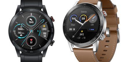 Honor Magic Watch 2:n tyylivaihtoehdot 46 millimetrin koossa.