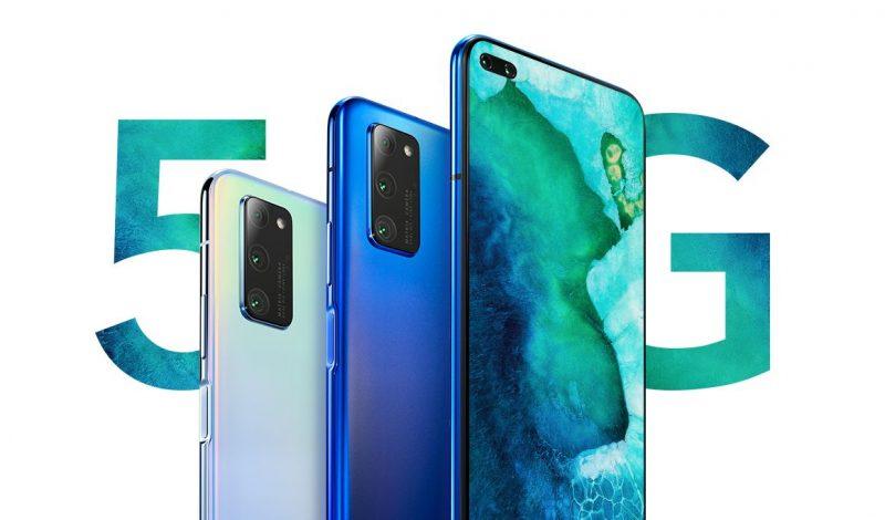 V30 ja V30 Pro ovat Honorin ensimmäiset 5G-älypuhelimet.