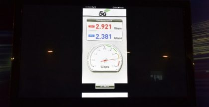 2,92 gigabitin latausnopeus älypuhelimella 5G-verkossa saavutettiin Huawein ja Türk Telecomin testissä.