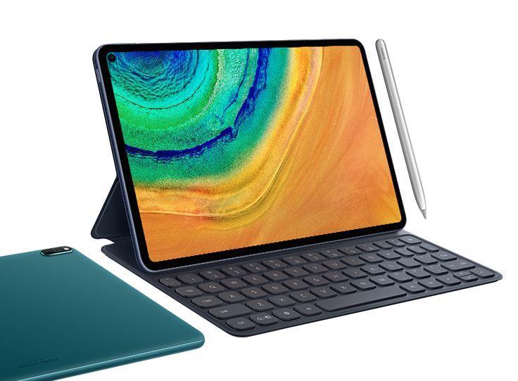 Huawei MatePad Prolle myydään myös näppäimistöä ja kynää.