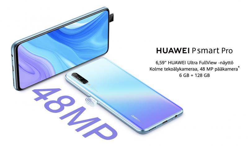 Huawei P Smart Pro.
