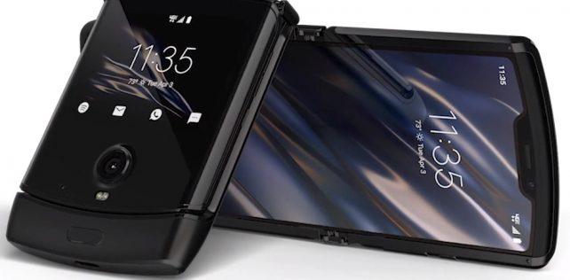 Motorola julkisti taittuvanäyttöisen razr-simpukkapuhelimen