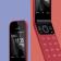 Punainen on Nokia 2720 Flipin kolmas värivaihtoehto.