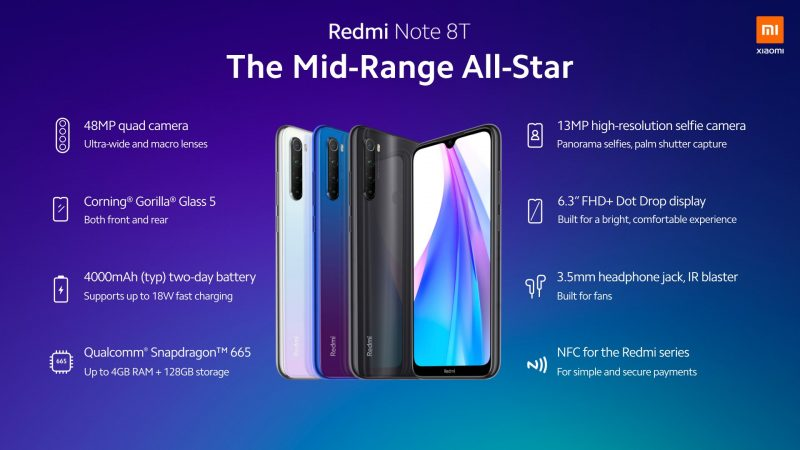 Redmi Note 8T.