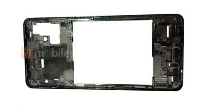 Tulevan Samsung Galaxy A51 -älypuhelimen runko.