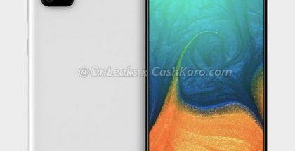 Samsung Galaxy A71. Kuva: OnLeaks / CashKaro.