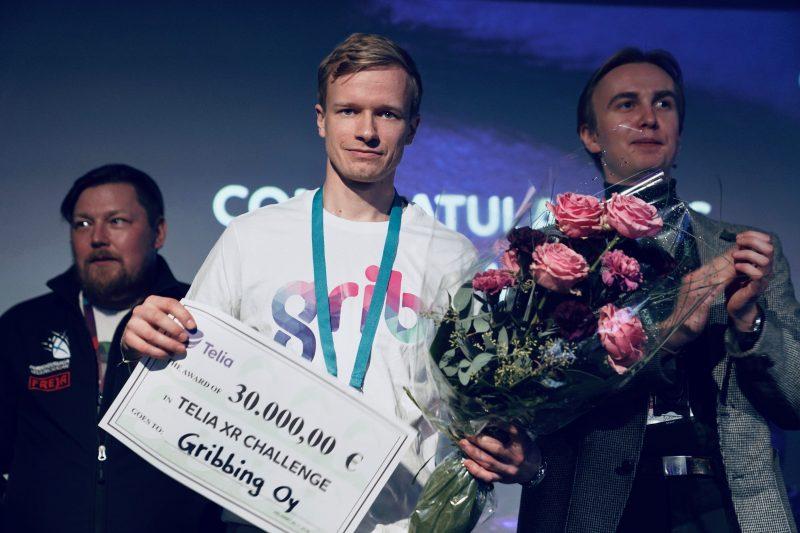 Gribbing pokkasi Telia XR Challengen voiton.