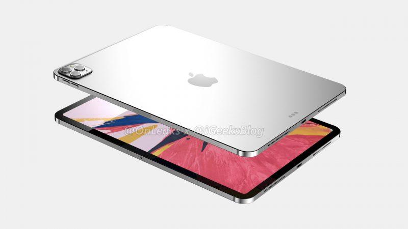 11 tuuman iPad Pron mallinnos. Kuva: OnLeaks / iGeeksBlog.