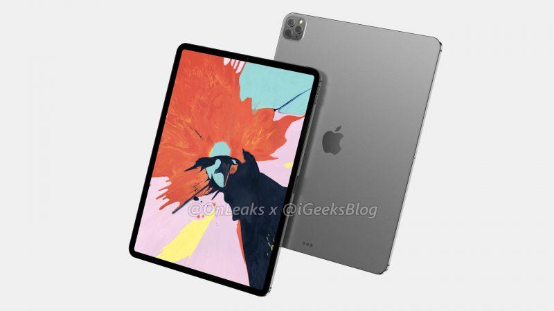 12,9 tuuman iPad Pron mallinnos. Kuva: OnLeaks / iGeeksBlog.