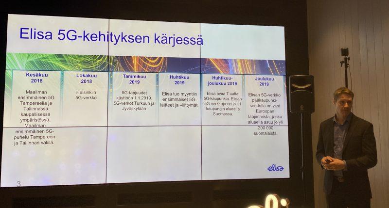 Elisa on Suomessa toimivista operaattoreista lähtenyt selvästi aggressiivisimmin liikkeelle 5G:n kanssa.