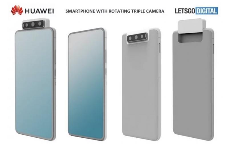 Huawein mallisuojahakemuksen perusteella luodut mallinnokset. Kuva: LetsGoDigital.