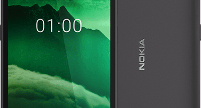 Nokia C1 mustana.
