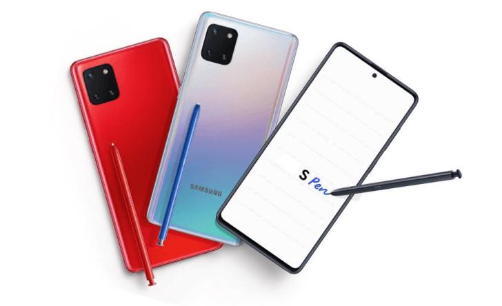 Samsung Galaxy Note10 Lite tuo S Pen -kynän huippumalleja edullisempaan hintaluokkaan.